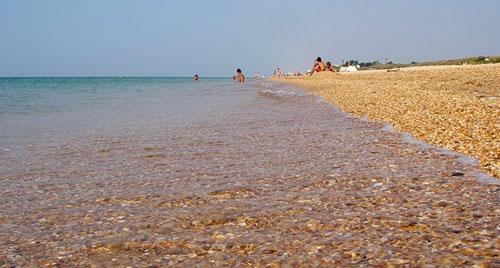 Черноморские пляжи