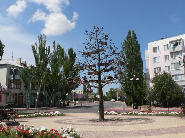Дерево Керчь, имена города