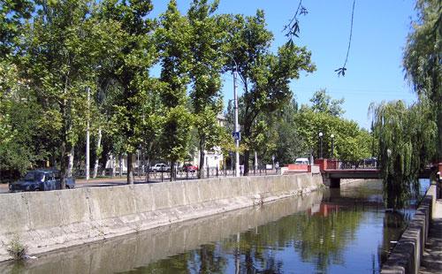 Речка Мелек-Чесме в Керчи