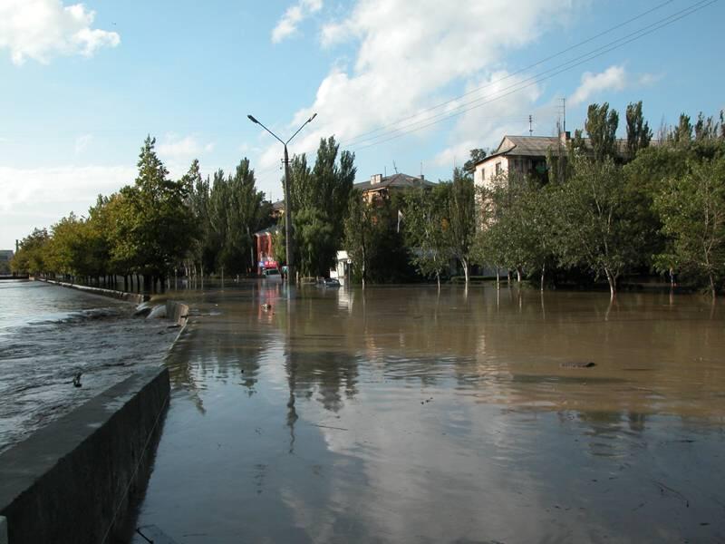 Мелек-Чесме наводнение 2002