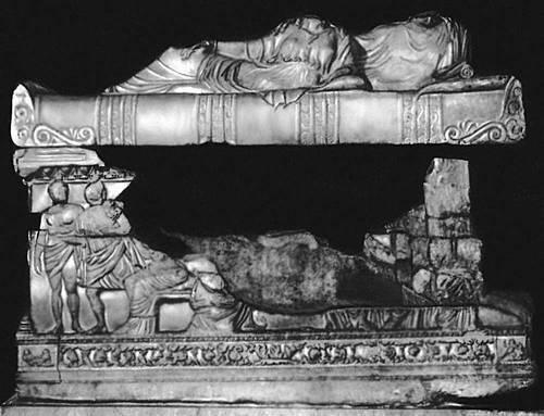 Саркофаг из Мирмекия, античного  города, под Керчью