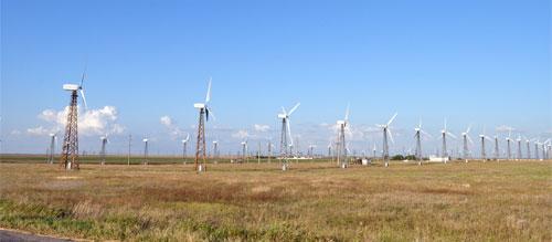 поселок Мирный  Ветроэлектростанция