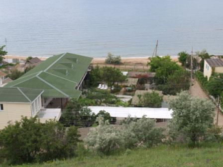 пансионат Анкор, находится на побережье