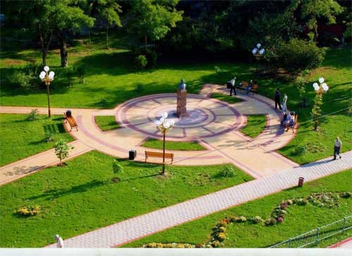 Керчь, сквер Пирогова