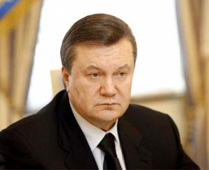 Виктор Янукович – президент Украины.