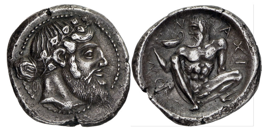Серебрянная тетрадрахма, Сицилия