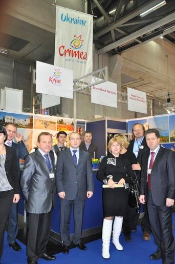Крым на Ferienmesse – ведущей туристической выставке Австрии.