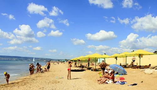 Пляжи в Береговом, Феодосия