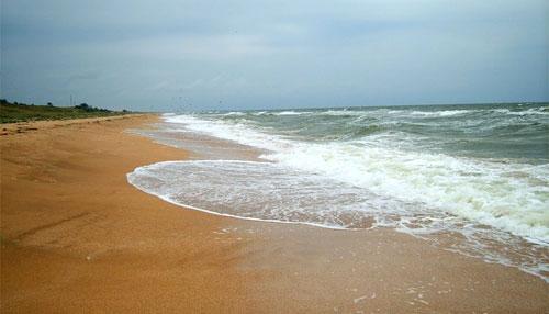 Пляжи в Береговом (Феодосия)