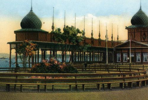 Буфет Поплавок в Керчи, старое фото