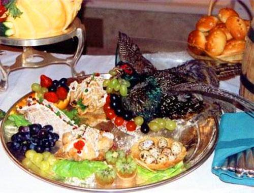 Блюдо из фазана - украшение любого стола