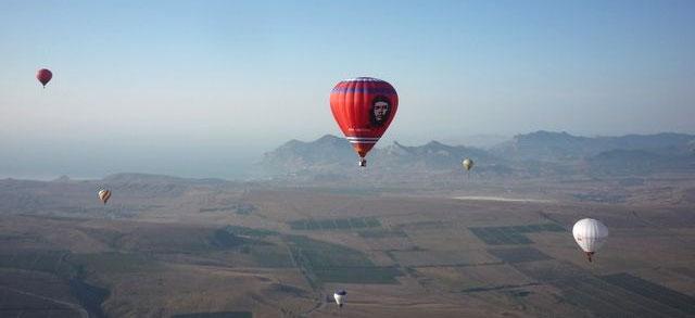 Полеты на воздушном шаре в Крыму, Феодосия