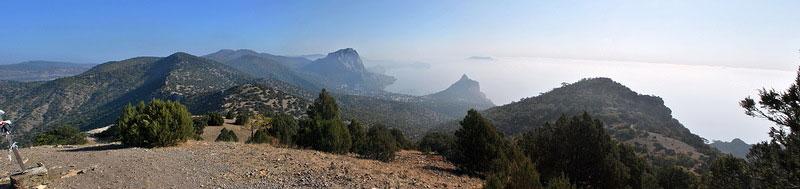 Караул-Оба (Сторожевая гора) - на вершине