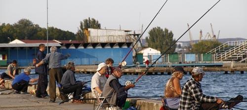 Керченские рыбаки