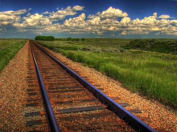 Железная дорога в Керчи
