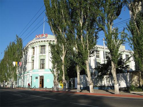 Судоремонтный завод (бывшая табачная фабрика К.И. Месаксуди)