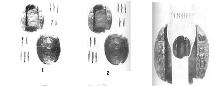 В 1910 г. в Керчи на территории некрополя Боспора в погребении  второй половины 4 – первой половины 5 в.до н.э.  была найдена лира, которая имеет типично античные формы – бронзовый резонатор в форме  панциря черепахи, 16 струн, натянутых на поперечине при помощи деревянных колков и декор – изображения  Ники и Ареса