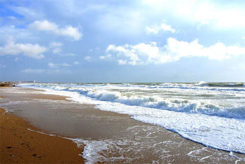 Пляж в Береговом, Феодосия