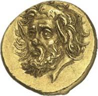 Золотой статер Пантикапея, из коллекции Prospero