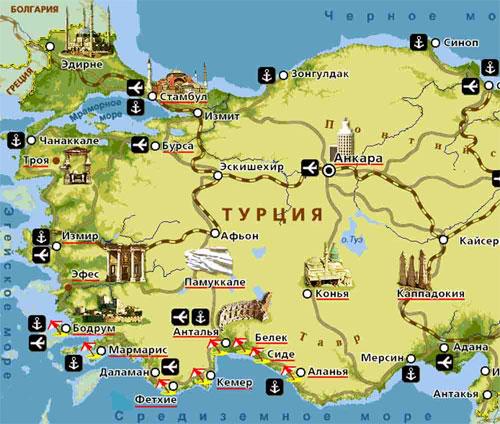 Турция - удивительная страна