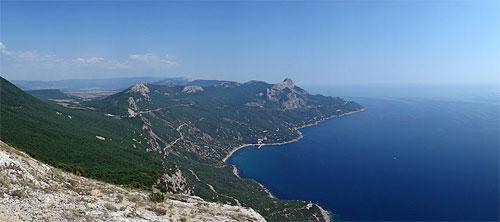 Открылся вид Крыма
