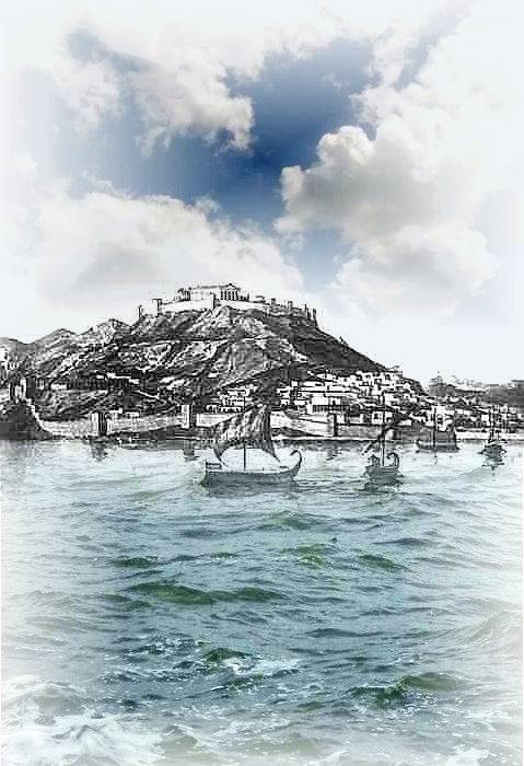 Древний Пантикапей, - современная Керчь