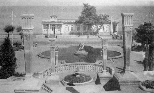 Алушта реконструкция набережной 1960