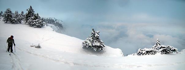 Крым- горнолыжный курорт, Ай-Петри