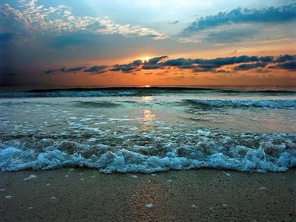 Фосфорение моря в августе, Керчь