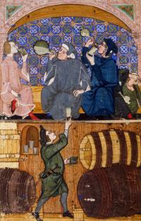 Генуэзцы - большие любители Крымских вин