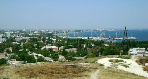 Холм Митридата в Феодосии
