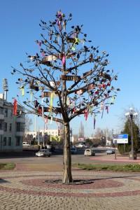 Дерево с именами Керчи