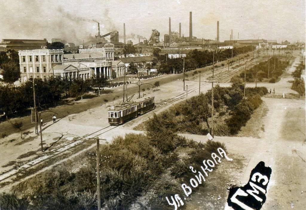Первый трамвай в Керчи