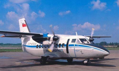 Самолет L-410 (Л-410) разработан в конце 1960-х годов чехословацким предприятием Let (Лет)