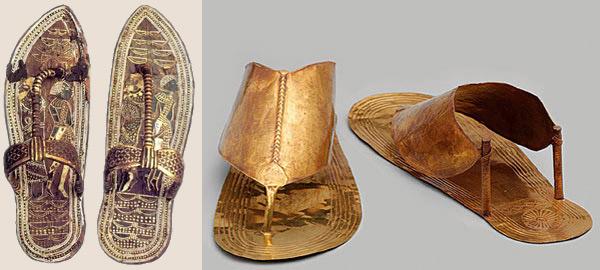 Обувь древних скифов, греков