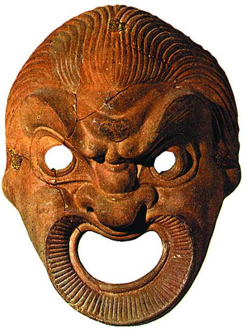 Античная театральная маска