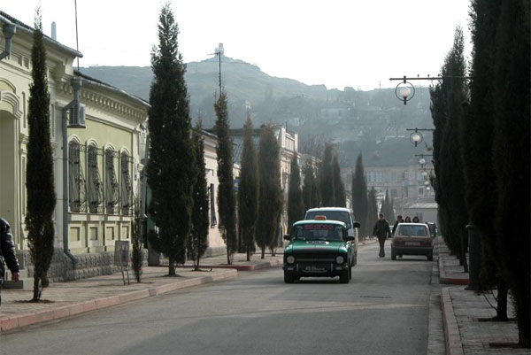 Улица Циолковского в Керчи