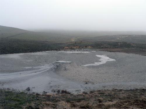 Грязевые вулканы, Керчь, Булганак