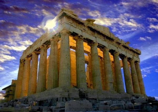 греция-Древний храм