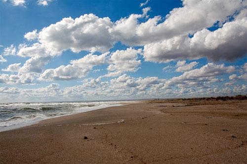 Пляжи в Крыму, пос. Межводное