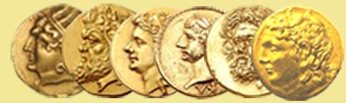 Золотые монеты Пантикапея