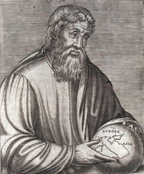 Древнегреческий историк и географ Страбон