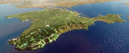 Полуостров Крым - уникальнейший регион Украины