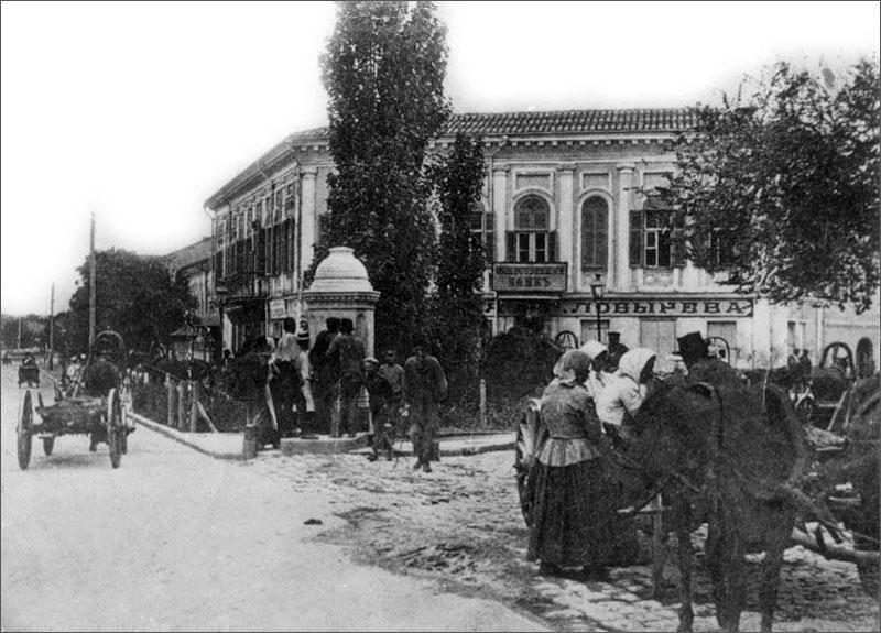 Фонтан Гущина, фото 1905 год
