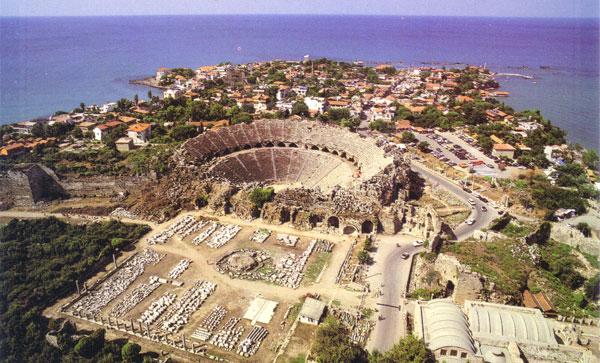 Город Милет, на территории современной Турции