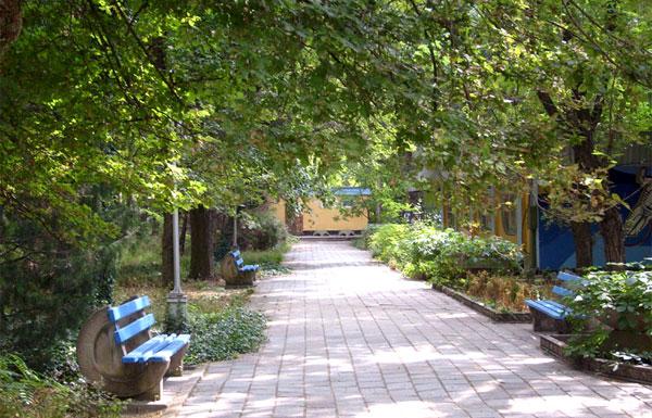 Гагаринский парк в Керчи, район Войково