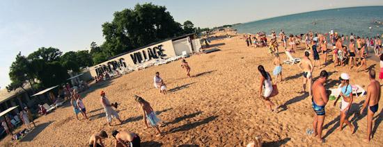 Героевка, пляж Dansing Village