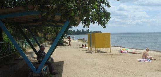 пляж на сморжевского