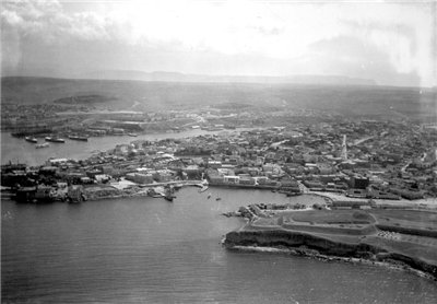 Севастополь, 1901 год - вид с аэростата