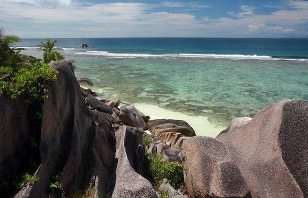 Пляж Anse Sourse D'Argent (Сейшелы)